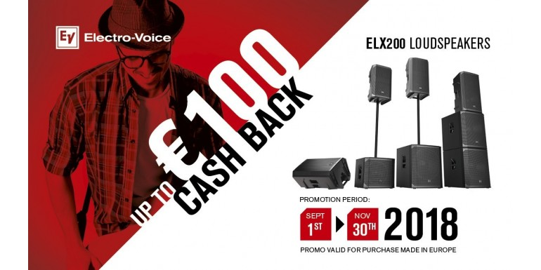 ELX200 Cash Back Kampagne