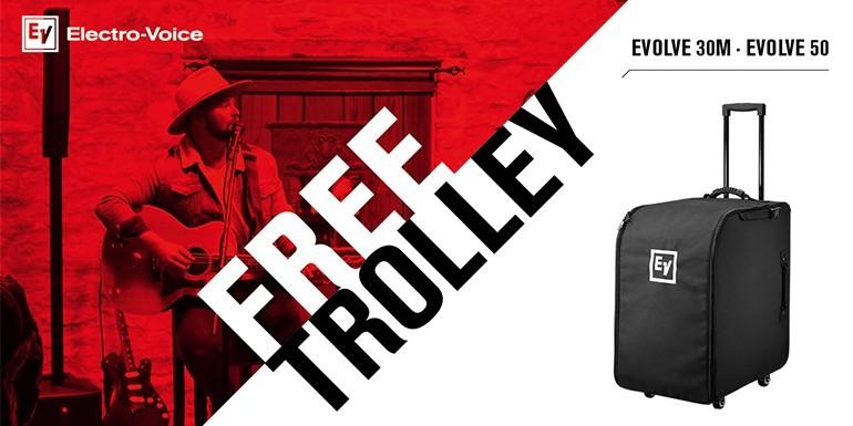 Gratis Trolley til søjlerne!