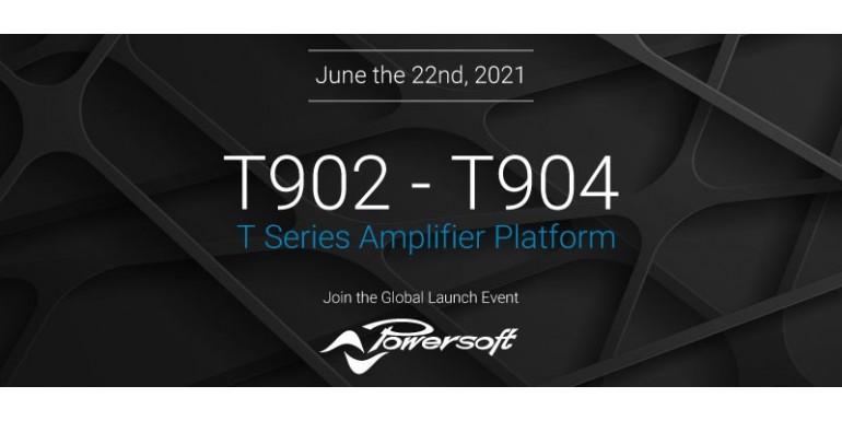 Powersoft T902-T904 lancering