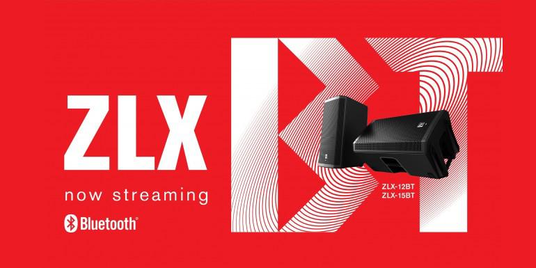 Nu kan du streame musik med ZLX højttalerne!