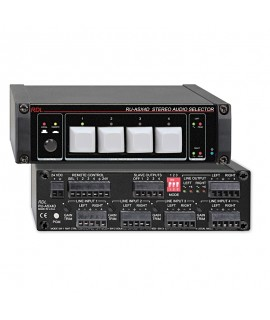 RDL RUASX4D Stereo Audio...