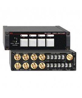 RDL RUVSX4 Video Switcher -...