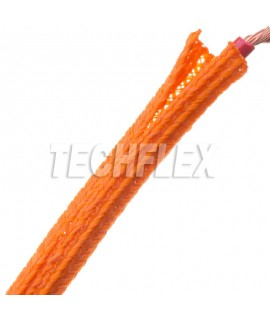 F6 kabelstrømpe 3,2mm i orange