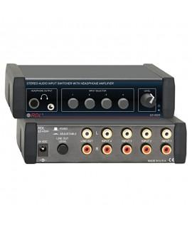 RDL EZHSX4 Stereo Audio...