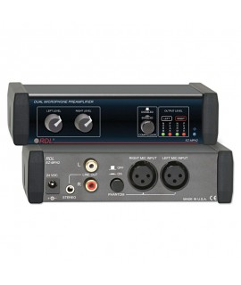 RDL EZMPA2X Dual Microphone...