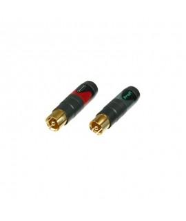 Neutrik NF2C-B2 - RCA/Phono...