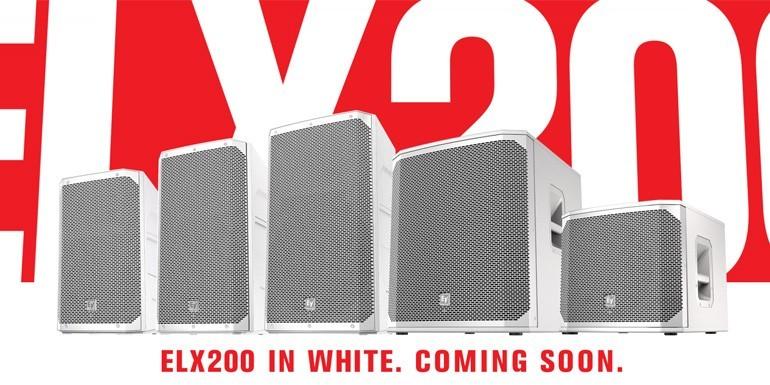 ELX200 i hvid - kommer snart