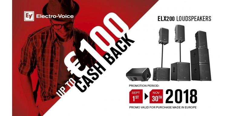 ELX200 Cash Back Kampagne