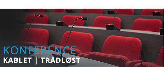Konference og tolke udstyr