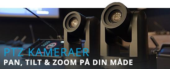 PTZ Kameraer