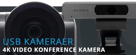 USB kameraer til videokonference